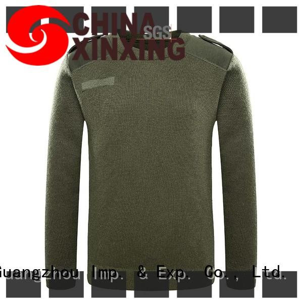 XinXing stable supply army sweater manufacturer for policeman