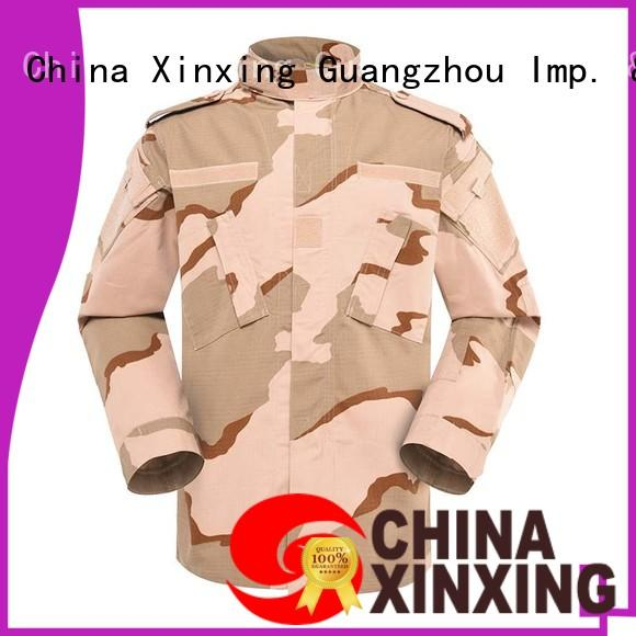 XinXing knitted military clothing sales trader for policeman
